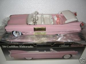 1959 Pink Cadillac Decanter