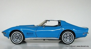 1968 Corvette (blauw)
