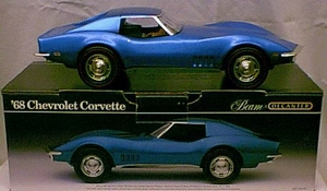 1968 Corvette Decanter (blauw)