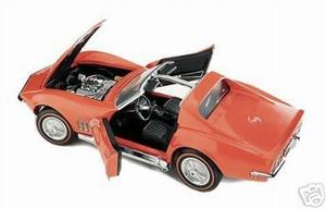 1969 Corvette Sting Ray (oranje)