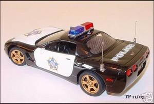 1999 Corvette Police Car
