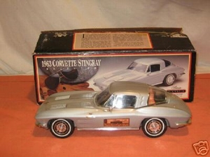 1963 Corvette Stingray  Decanter (zwart)