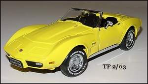 1975 Corvette Convertible Sting Ray