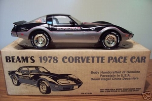 1978 Corvette Indy 500 Pace Car Decanter
