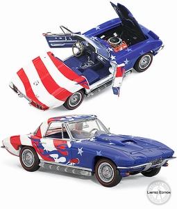 1967 Corvette Sting Ray Stars & Stripes