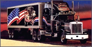1987 Peterbilt 379 Truck & Refrigerated Trailer