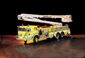 Pierce Snorkel Ladder Truck