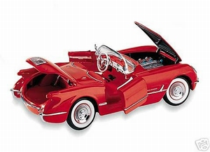 1954 Corvette Convertible (rood)