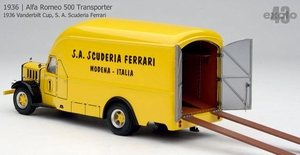 1936 Alfa Romeo 500 Transporter