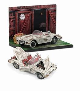 1959 Corvette_ Barn Find Diorama