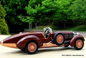 1924 Hispano Suiza Tulipwood Speedster