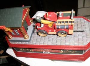 Firefighter`s Mechanical Bank