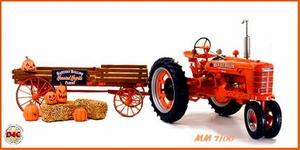 1941 Farmall Model H Tractor & Halloween Hayride Wagon