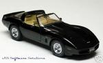 1980 Corvette (zwart)