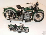 1936 Harley Davidson Knucklehead EL Set