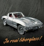 1963 Corvette Sting Ray ( Fiberglass model)
