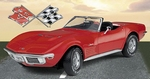 1970 Corvette Convertible (fiberglass versie)